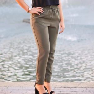 """Green Forever 21 """"Business Casual"""" Pants"""
